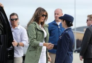 Melania Trump Surprise Visit at the border with Mexico