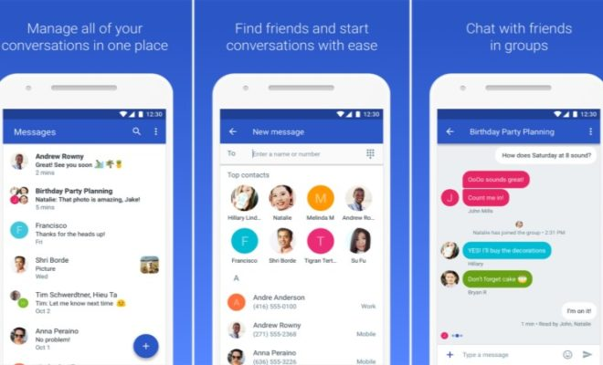 Google Comes with Web Version for Text Messages on Android