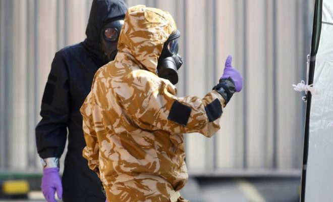 British Nerve Agent Victim Released from Hospital after Poisoning