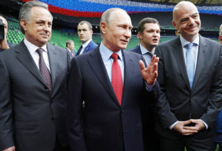 Where is Putin? Russian President Absent on World Cup Football