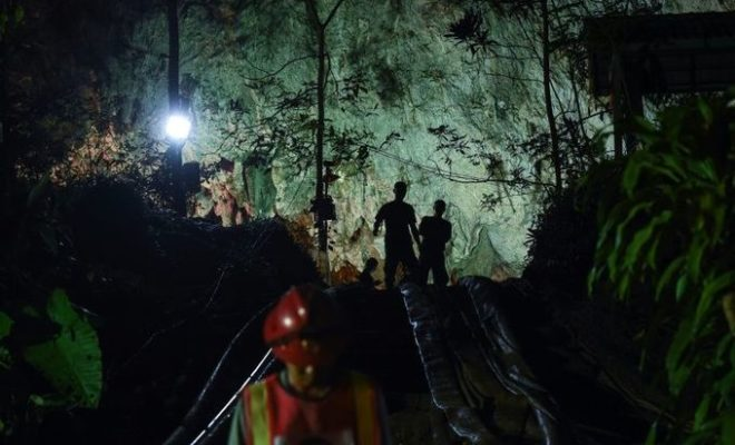Thai Football Players Found Alive in the Cave