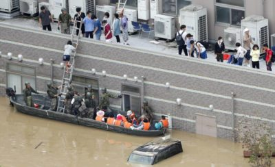 155 Dead and 50 Missing due to Heavy Weather in Japan