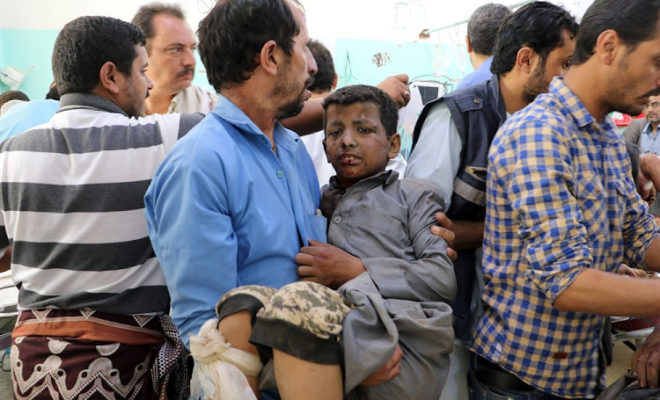 Air Strikes in Yemen: Dozens of Deaths Including Children on A Bus