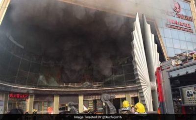 19 Deaths at Hotel Fire in China