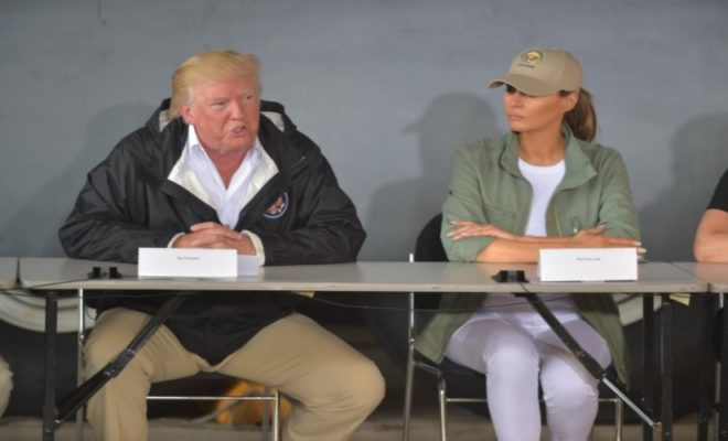 Donald Trump Denies Death Toll through Hurricane Maria in Puerto Rico