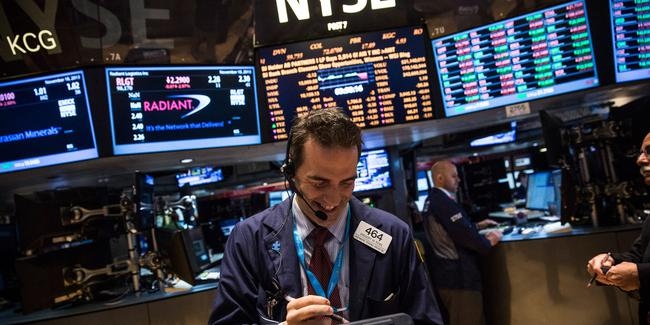 Another Record Day for Dow Jones, Not for Tech