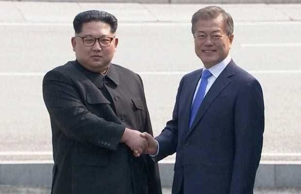 Peace is Sparkling between North and South Korea: No to War
