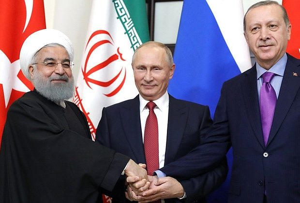 Presidents of Russia, Turkey and Iran Meet to Plot Future of Syria
