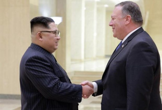 Mike Pompeo is with Kim Jong-un to Arrange Second Meeting with Trump