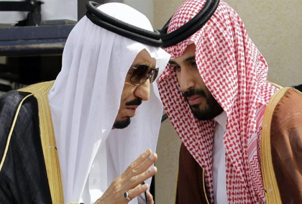 Saudi King Salman Crown Prince Meet Khashoggi Family