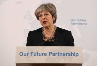 Theresa May to Deliver Speech on Brexit after Talks Break Down