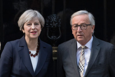 May and Juncker Make Progress on Brexit but Find No Agreement