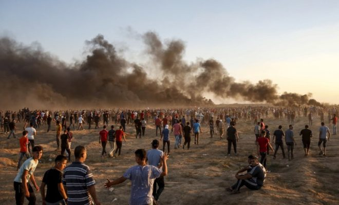 4 Palestinians Killed in Confrontations at the border of Gaza