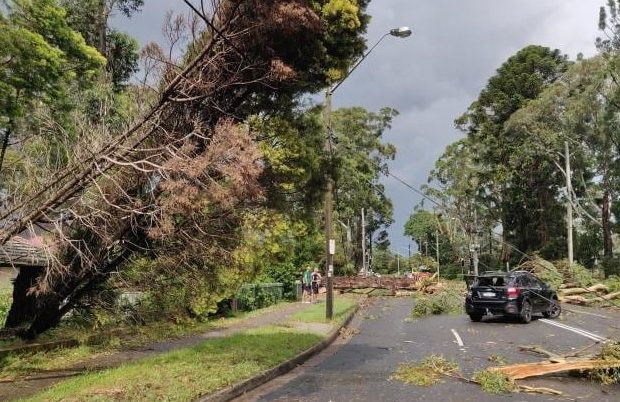 Sydney: Thousands without Power due to Severe Weather Storm