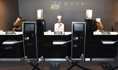 Japanese Hotel Dismisses Half Robot Staff for Breach of Contract
