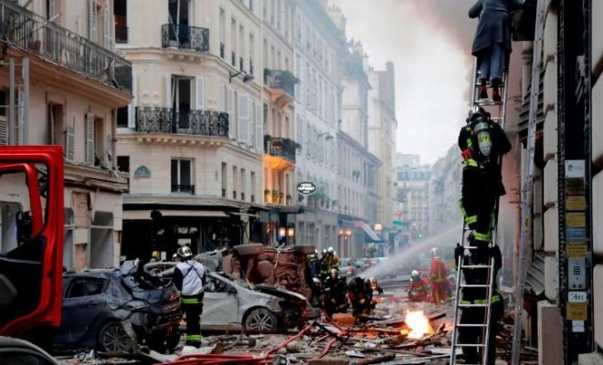 Massive Gas Explosion in A Bakery in Paris: 3 People Killed