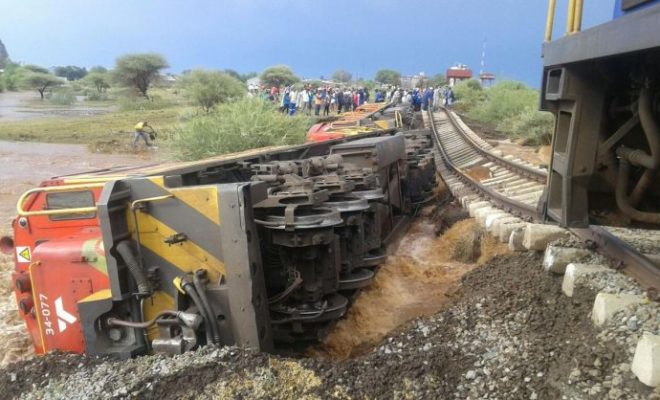 train accident south africa