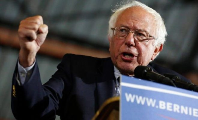 Bernie Sanders (77) again Throws to Presidency US