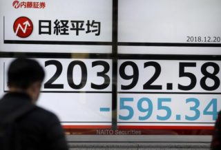 Nikkei Lower Again Due to Fear of Tokyo Emergency