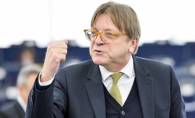 Guy Verhofstadt: I Expect A Breakthrough in the Brexit this Week