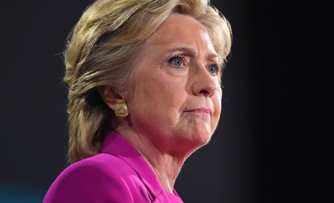 Hillary Clinton is not a Candidate for Presidential Elections of 2020