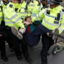 More than 400 Climate Change Activists Arrested in London