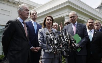 Democratic Leaders Reached an Agreement with Trump in White House
