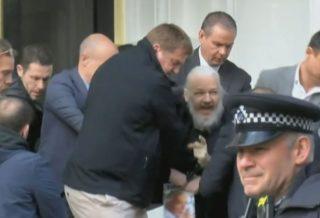 After 7 Years Hiding WikiLeaks Founder Julian Assange Arrested in London