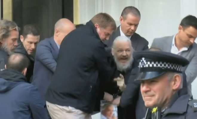After 7 Years Hiding WikiLeaks Founder Julian Assange Arrested in London