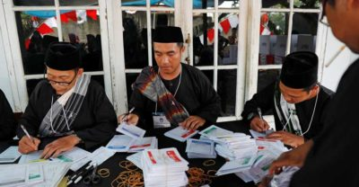 More than 270 Indonesians Died in Counting for Hours after Elections