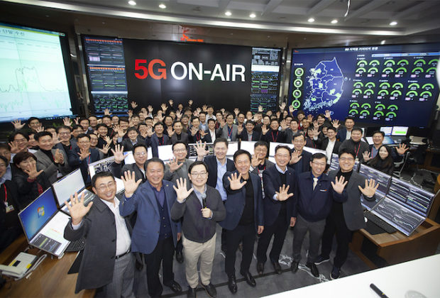 South Korea is Rolling Out the First Commercial 5G Network