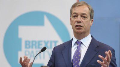 Brexit party Nigel Farage