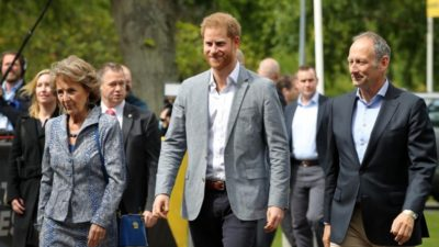 Prince Harry in The Hague for Invictus Games