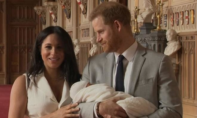 The Son of Harry and Meghan is Named Archie