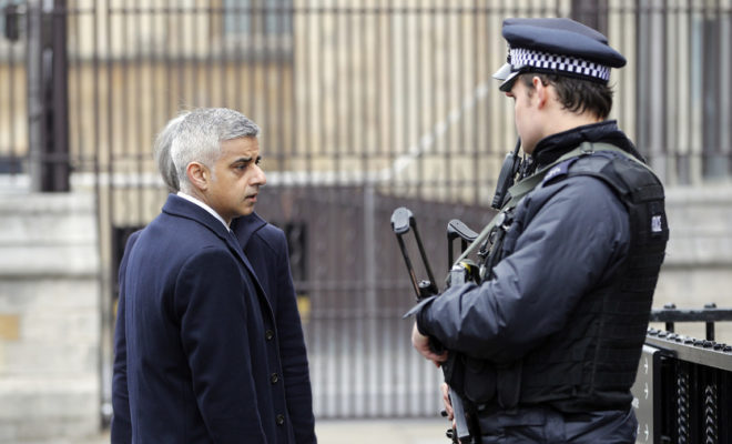 Permanent Police Surveillance for Mayor London after Continuing Threats
