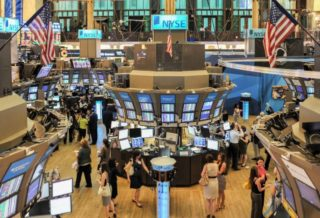 The Stock Exchanges in New York Remained Close to Home on Monday
