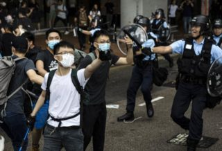 DDoS Attack on Telegram after the Hong Kong Protests