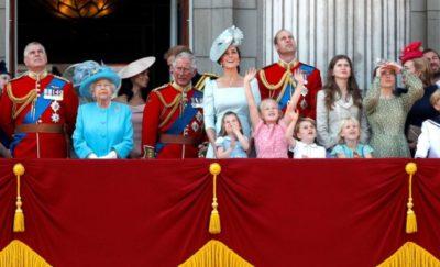 British Royals Celebrate Queen Elizabeth Birthday