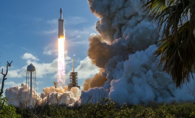 SpaceX Successfully Launches Falcon Heavy Rocket for the Pentagon