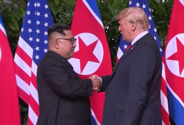 Trump would like to Shake Hands with Kim Jong-un on the Korean Border