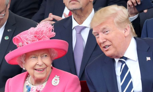 Queen Jokes at D-Day Ceremony with Trump: My Generation is Resilient