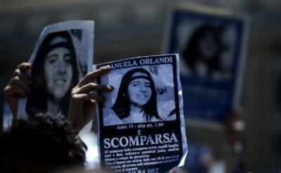 Breakthrough after 36 Years: Vatican Ppens Graves in Case Disappeared Emanuela