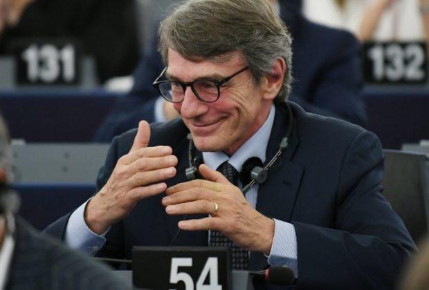 European Parliament Elects Italian Sassoli as New President