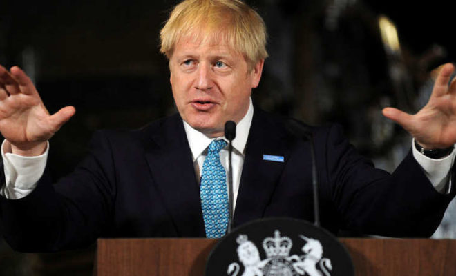 Johnson Urged the EU: Dump the Backstop or there will be a No-Deal Brexit
