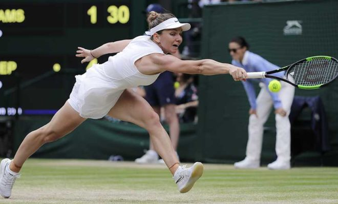 Simona Halep Wins Wimbledon Final against Serena Williams