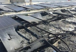Walmart Sues Tesla after Solar Panels Catch Fire