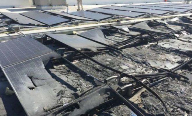 Walmart Sues Tesla after Solar Panels Catch Fire