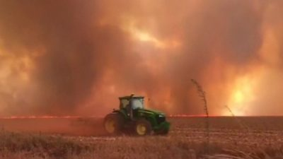 Enormous Inferno in Brazil: Fire in the Amazon Due to Deforestation