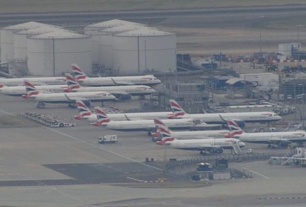 British Airways Pilots on Strike for the First Time, Hundreds of Flights Cancelled