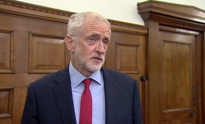 Possible Corona Fine for Former Labour Leader Corbyn